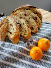 Maple Cranberry Orange Bread
