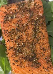 Bourbon Maple & Pepper Smoked Salmon