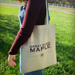Great River Maple Tote Bag