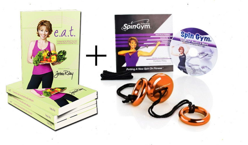 Forbes Riley - FAT Loss Bundle: SpinGym + e.a.t Journal - Shop Forbes Riley
