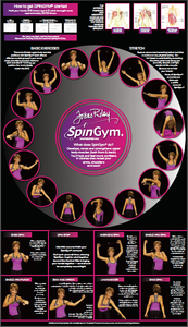 SpinGym Wall Chart
