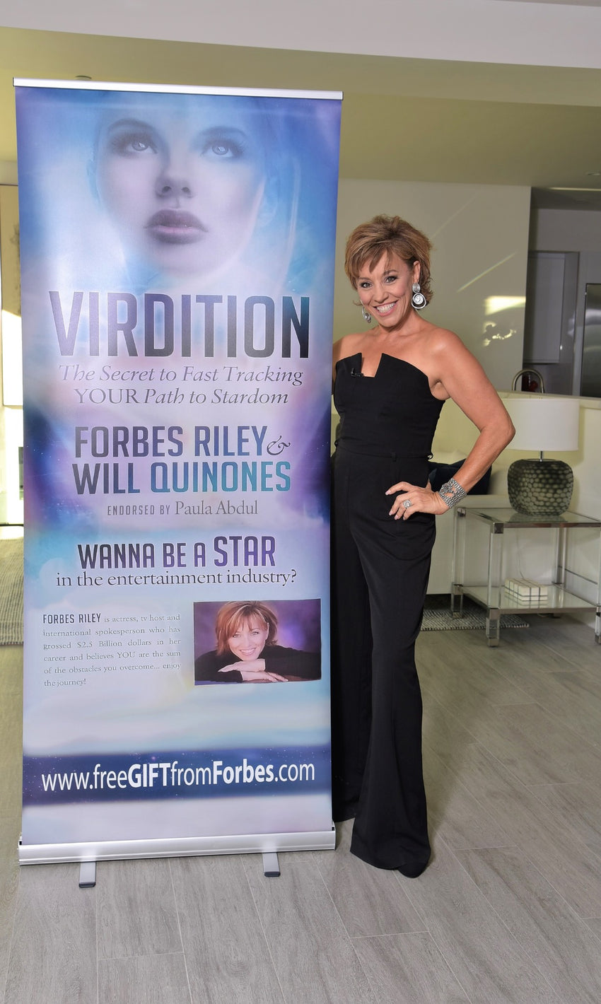 Virdition: Fast Track YOUR Way to Stardom - Shop Forbes Riley