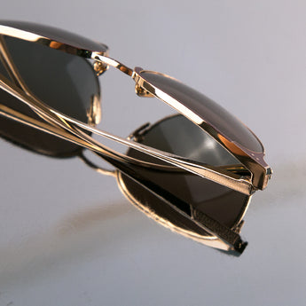 Monte Carlo in 18K Gold / Burgundy (The Vault) - Leisure Society