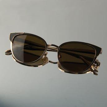St. Jean in Brown / 18K Gold  (The Vault) - Leisure Society