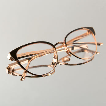 St. Jean in 18K Rose Gold / Burgundy (The Vault) - Leisure Society
