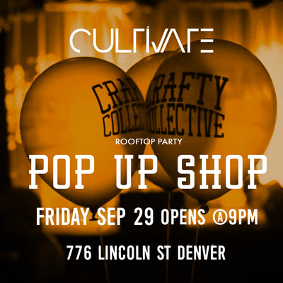 CRAFTY ROOFTOP POP UP SHOP