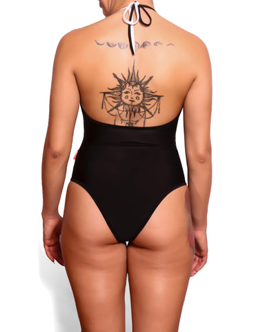 BLACK ONE-PIECE