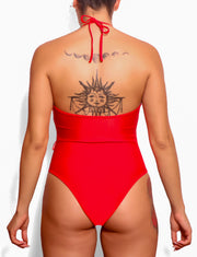RED ONE-PIECE