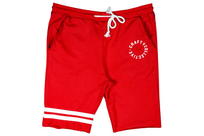 CRAFTY SHORTS RED