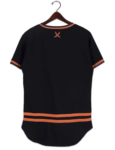 FLAME ORANGE JERSEY SHIRT