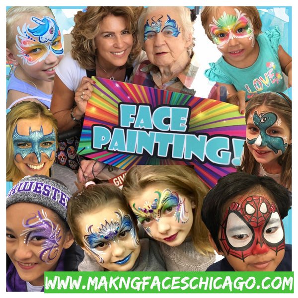 Chicago Event planning,Chicago face painting ,Chicago Henna Tattoos,Chicago sports team logos,
