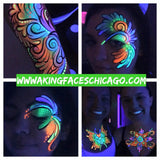 UV Face Painting