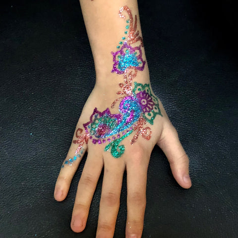 Custom Glitter Tattoos