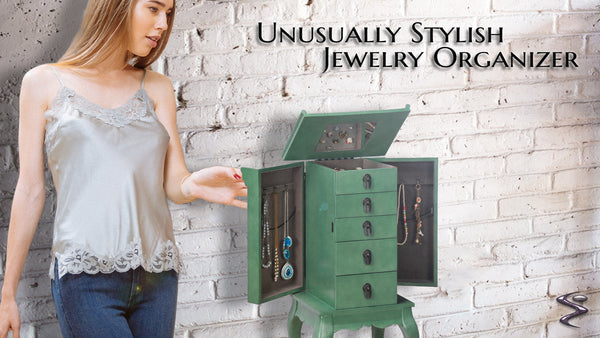 Asian Jewelry Armoire Was Given A Price Reduction!