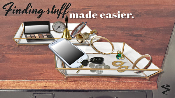 Glass Jewelry Tray Was Recently Released!