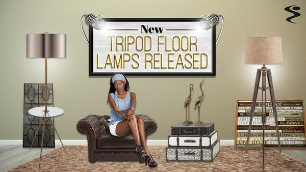 Tripod Floor Lamp Has Been Made Public!