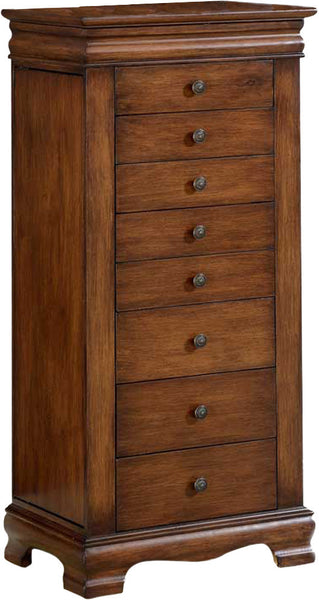 Jewelry Box Armoire is a memory keeper for jewelry pieces.