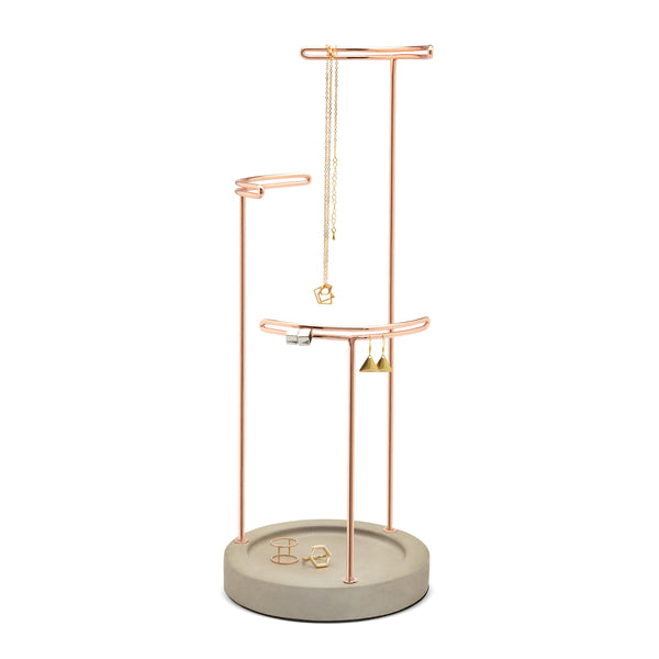 Jewelry Stand Organizer will showcase the brilliance and beauty found in jewelry.