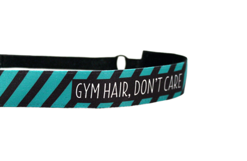 Gym Hair, Don't Care Headband