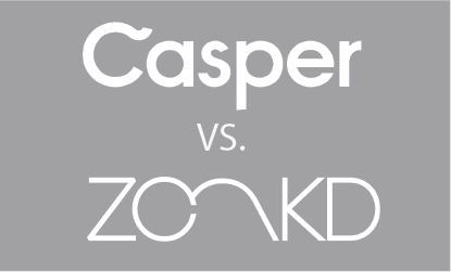How a Casper Mattress Compares to a Zonkd Sleep Mattress