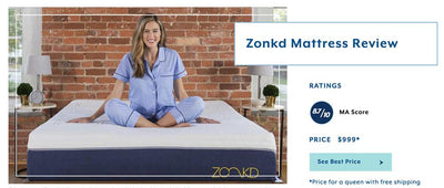 How A Zonkd Mattress Compares Against Mattress Advisor's Top Reviewed Mattresses