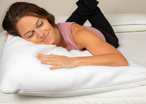hypoallergenic down alternative, hybrid and serene foam pillows