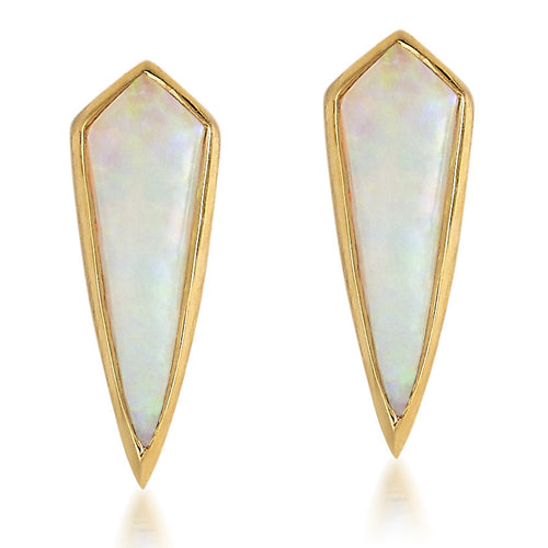 Opal Kite Stud Earrings