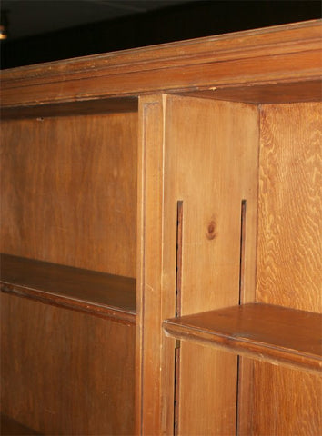 1930s Knotty Pine Bookcase