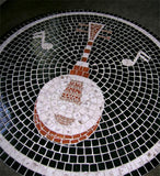 1950s Mosaic Tile Top Table