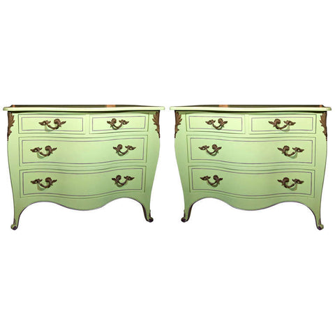 Chartreuse Commodes