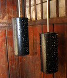 Pair of Cylindrical Hanging Lights