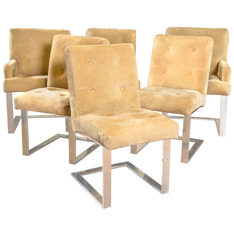 Paul Evans for Directional Dining Chairs
