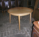 Round Ash Marquetry French Table