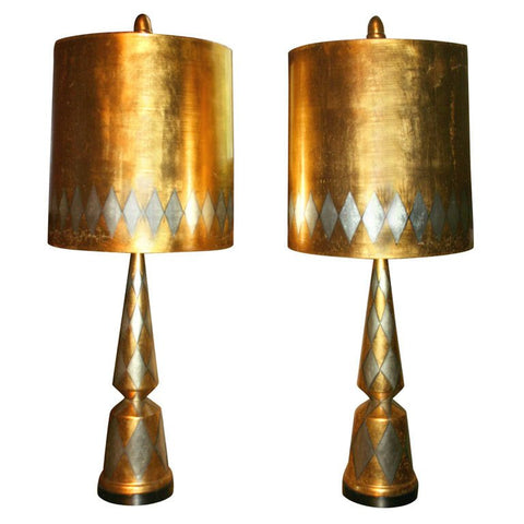 James Mont Harlequin Lamps