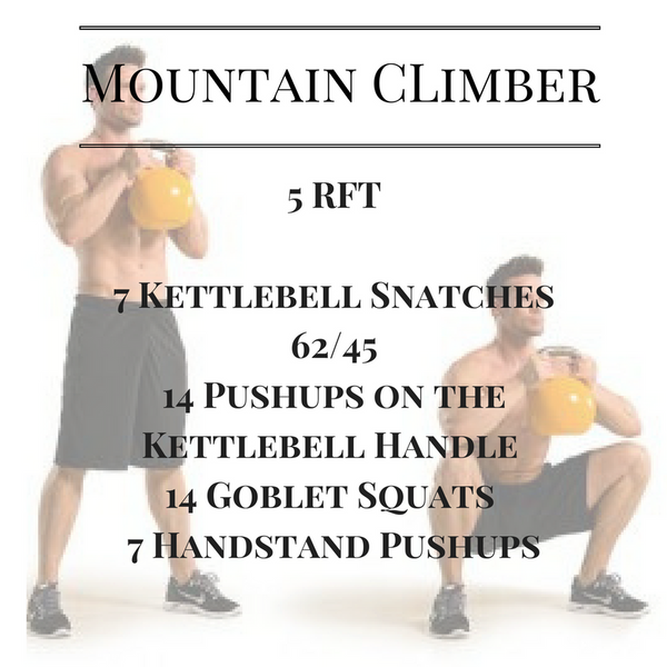 Workout of the day: Mountain Climber