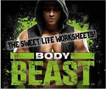 Body Beast Workout Sheets