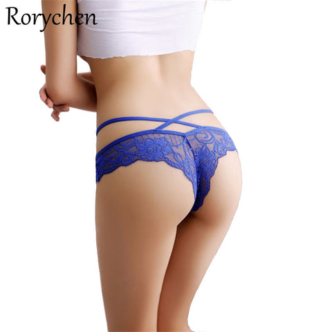 Rorychen Sexy Underwear Women G-String Sexy Panties Female Woman G String Calcinha Bikin Thong Fanga Briefs Thongs for womens