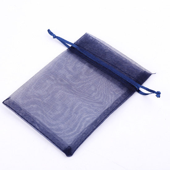 Aprro 7x9cm 25pcs/lot Jewelry Packing Drawable Organza Bags for Christmas Wedding Gift Bags & Pouches Packaging Bags F1735D
