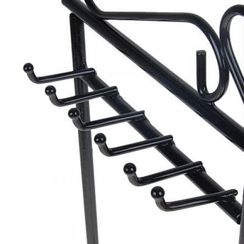 NEW Earring Necklace Jewelry Display Rack Stand Holder Organizer Black