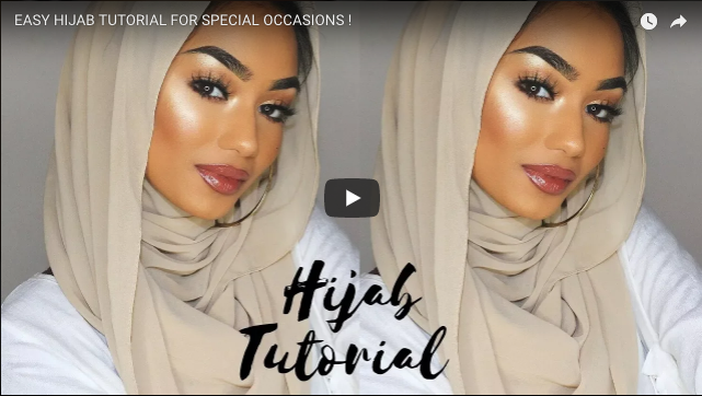 Easy Hijab Style For Special Occasions