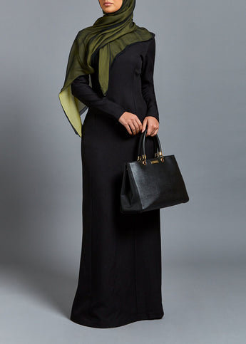Wool Professional Abaya Black