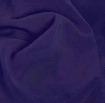 Plum Purple Soft Chiffon Hijab Scarf