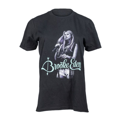 Brooke Eden Black Photo T-Shirt