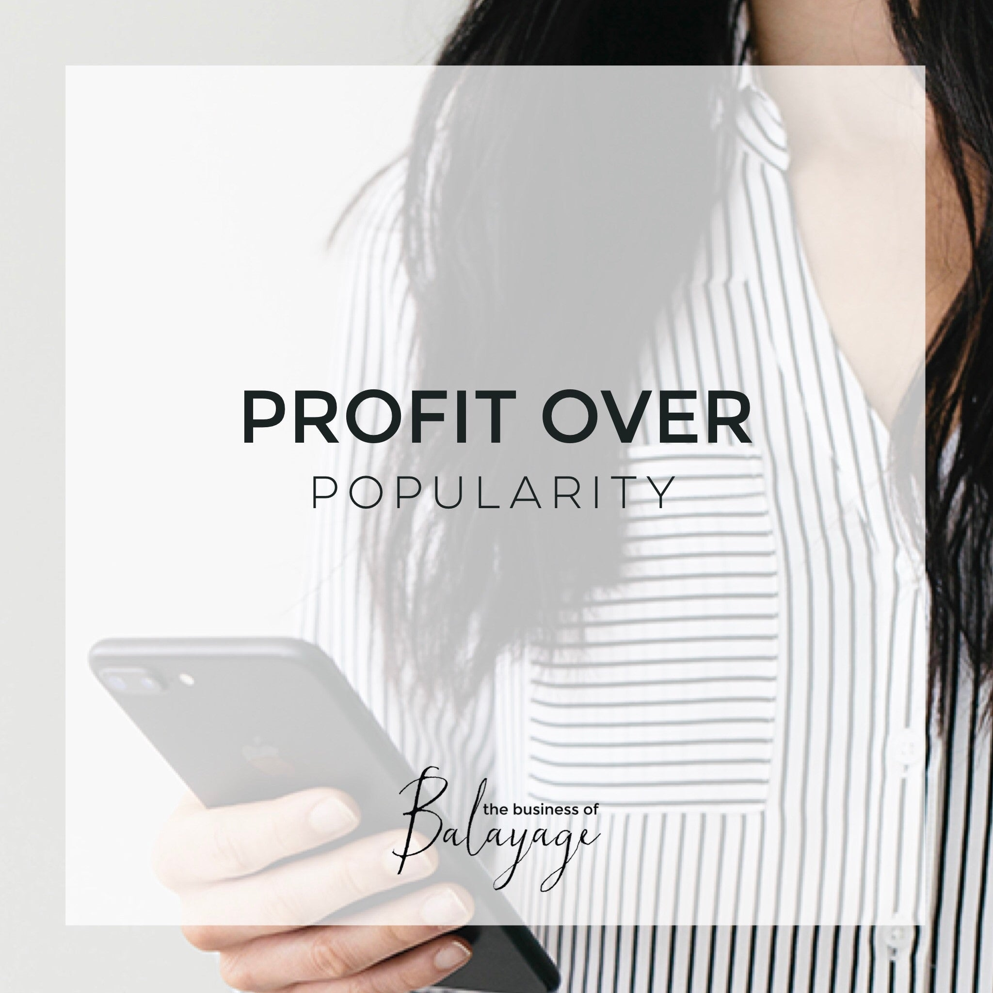 Profit Over Popularity