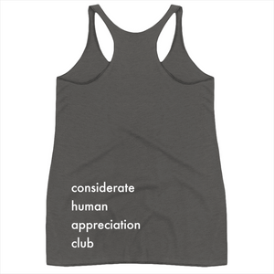 Considerate Human Appreciation Club Super Soft Tank - The Business of Balayage - Hairstylists Education