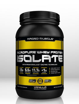Kaged Muscle Whey Protein Isolate - On it's way to the UK!