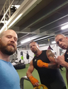 Kris Gethin tries out SABAS Fight Gear
