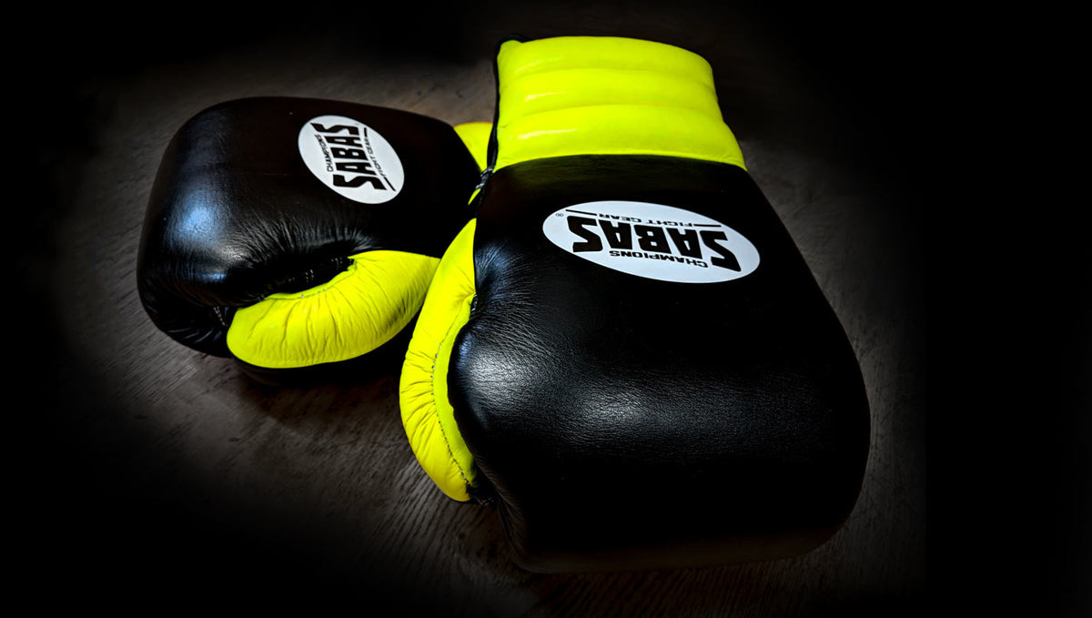 Crikey, the SABAS boxing gloves are selling like hot cakes!