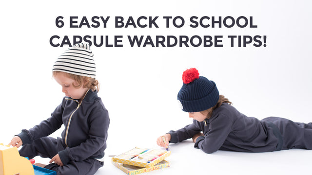 6 Easy Back to School Capsule Wardrobe Tips!