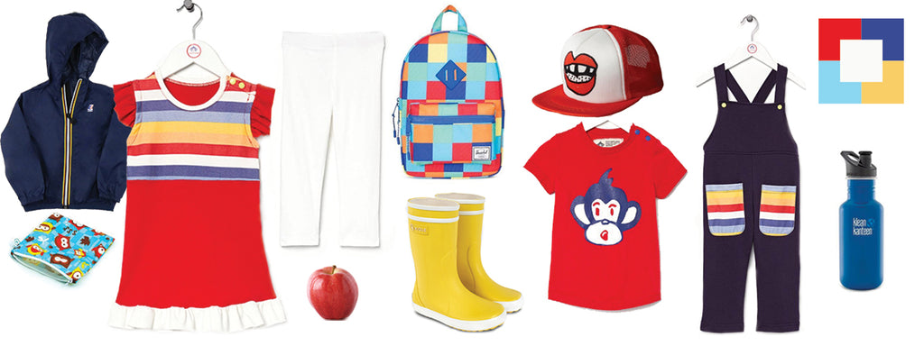 Back to school inspiration, Primary Colours